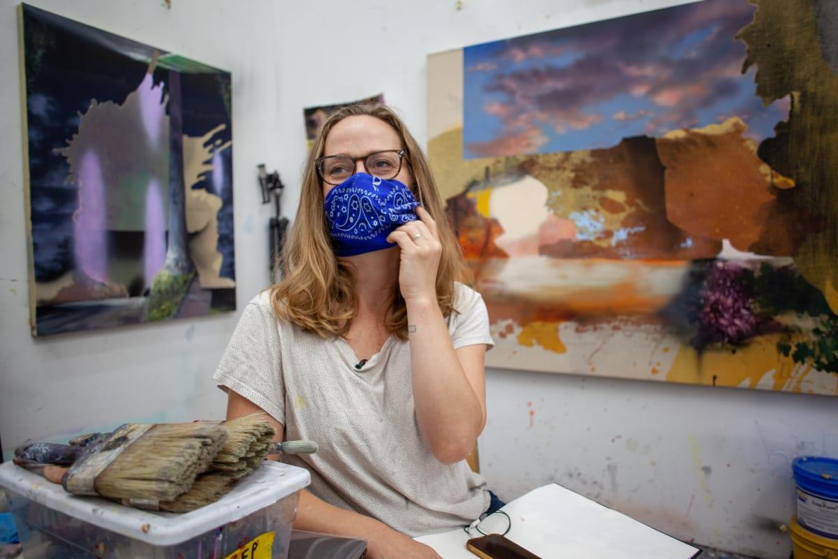 In the Studio: Annie Lapin Video