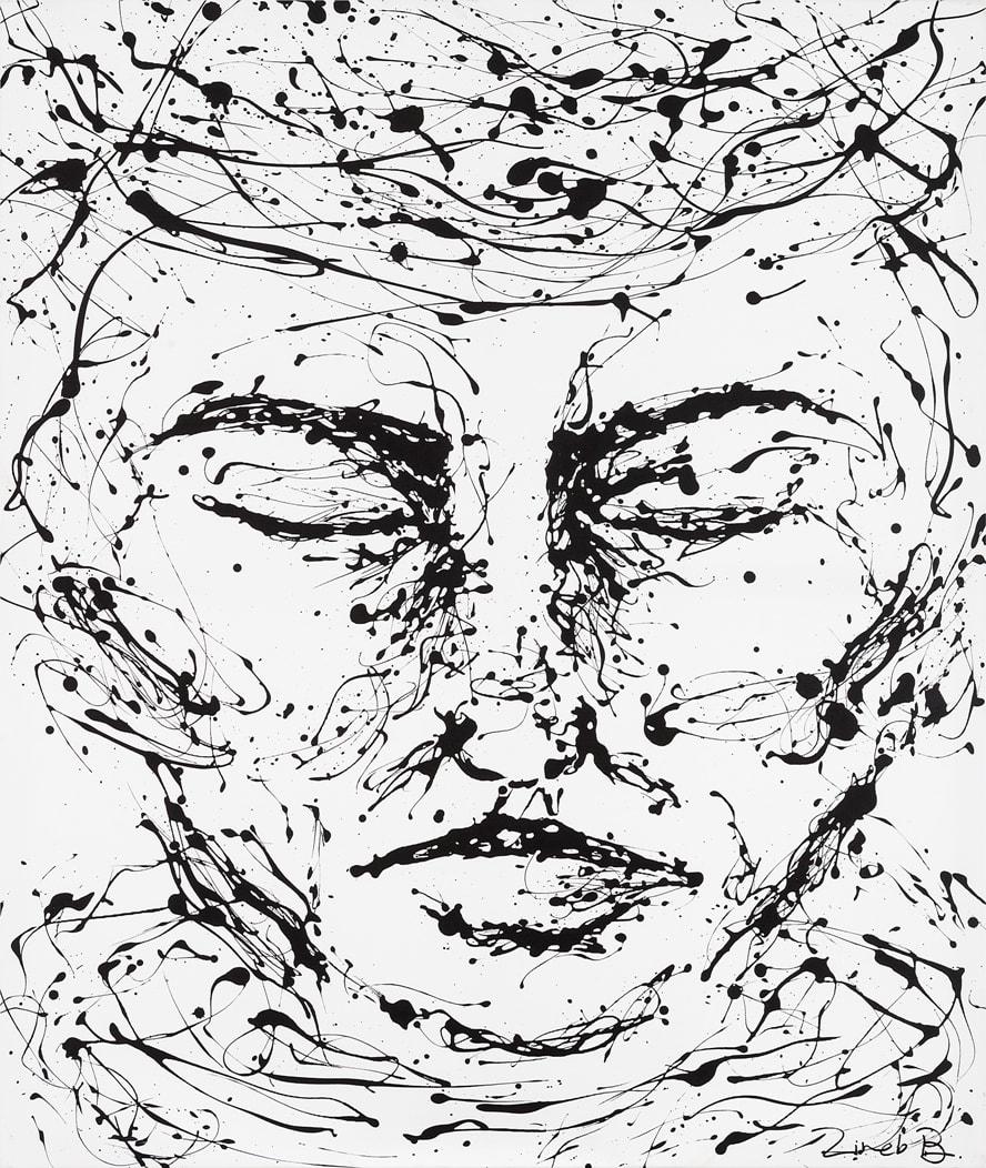 zineb bennis, Méditation, 2018