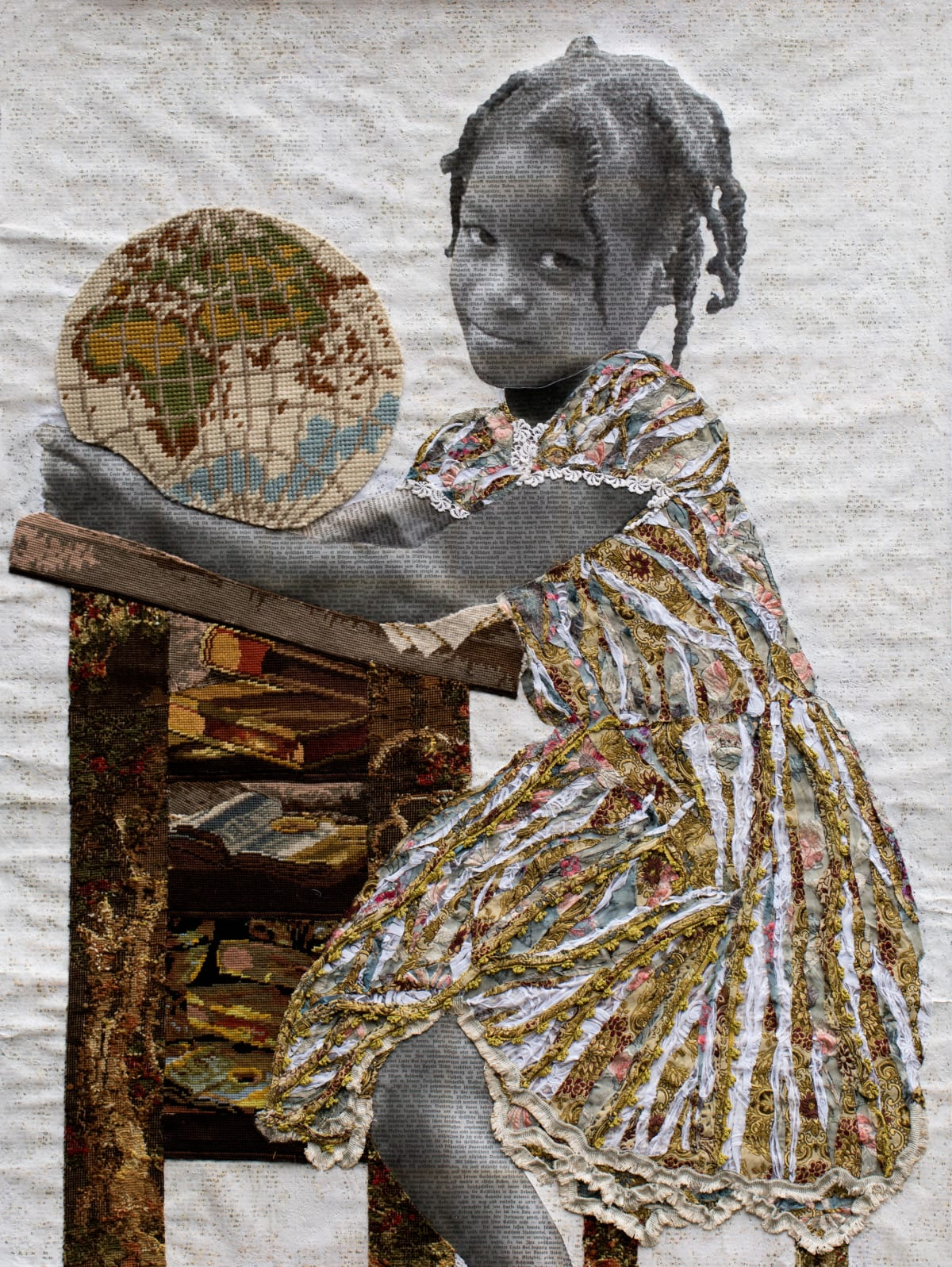 Marion Boehm, Holdind the world in my hands, 2017