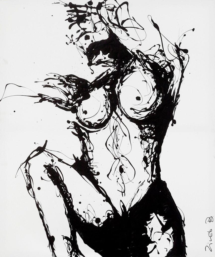 zineb bennis, La femme, 2018