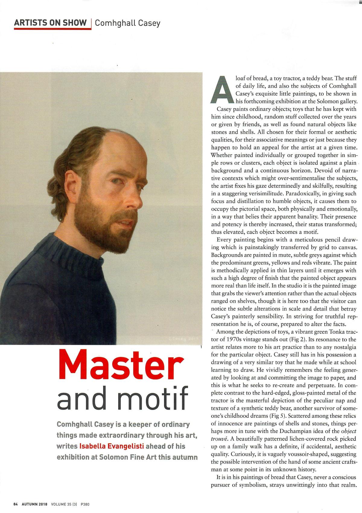 Master and Motif: Irish Arts Review