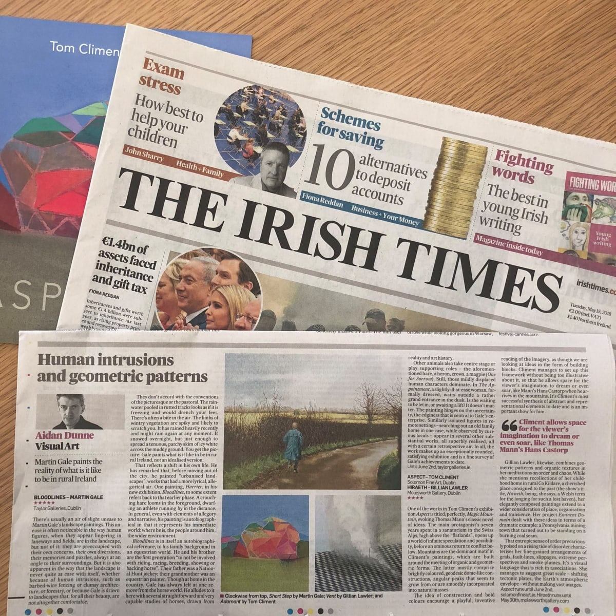TOM CLIMENT REVIEW IRISH TIMES