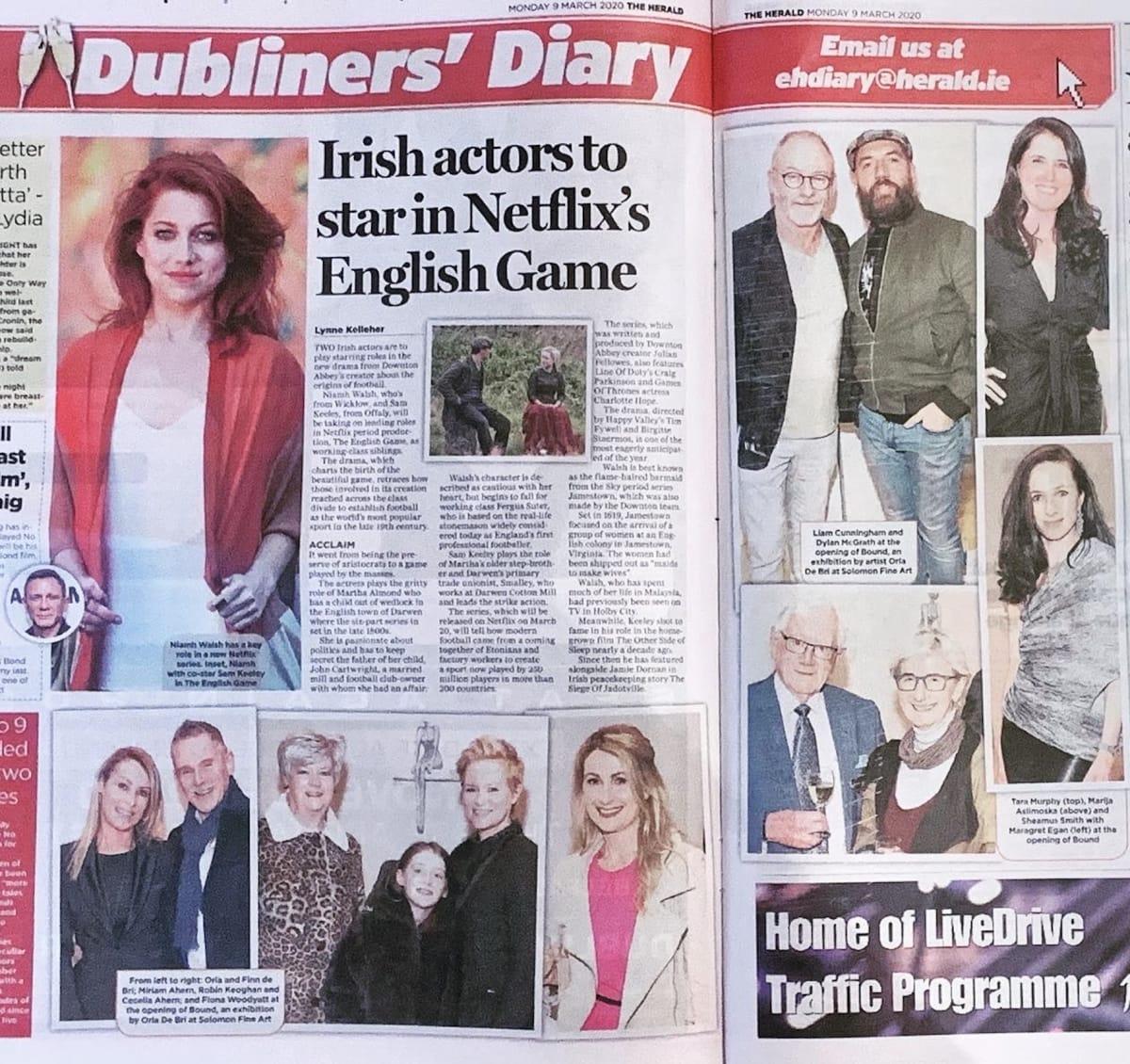 Evening Herald: Dubliner's Diary