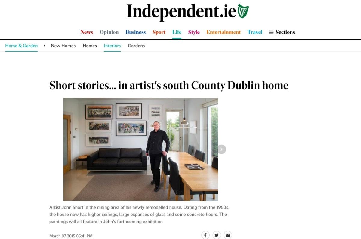 Sunday Independent Life Magazine: John Short