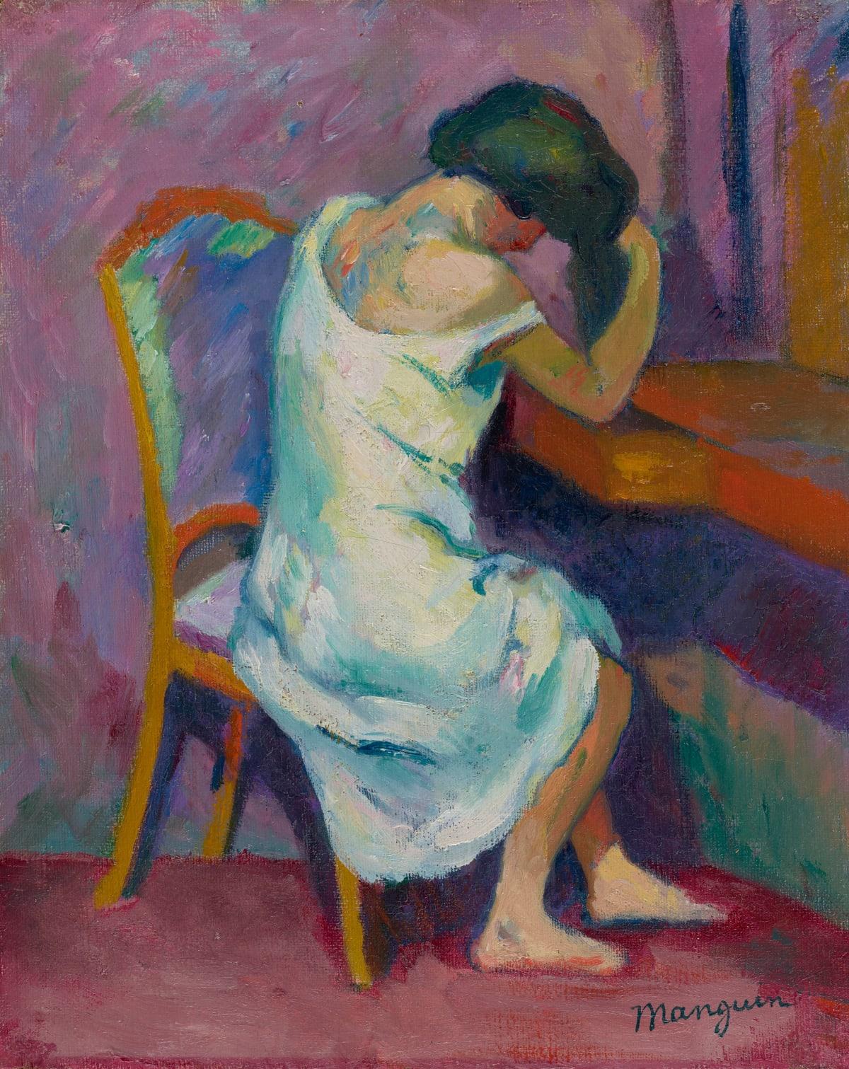 Henri-Charles Manguin, Jeanne à sa coiffeuse, 1904-05
