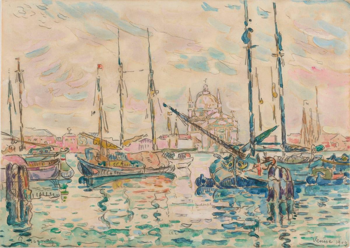 Paul Signac, Venise, le Rédempteur, 1909