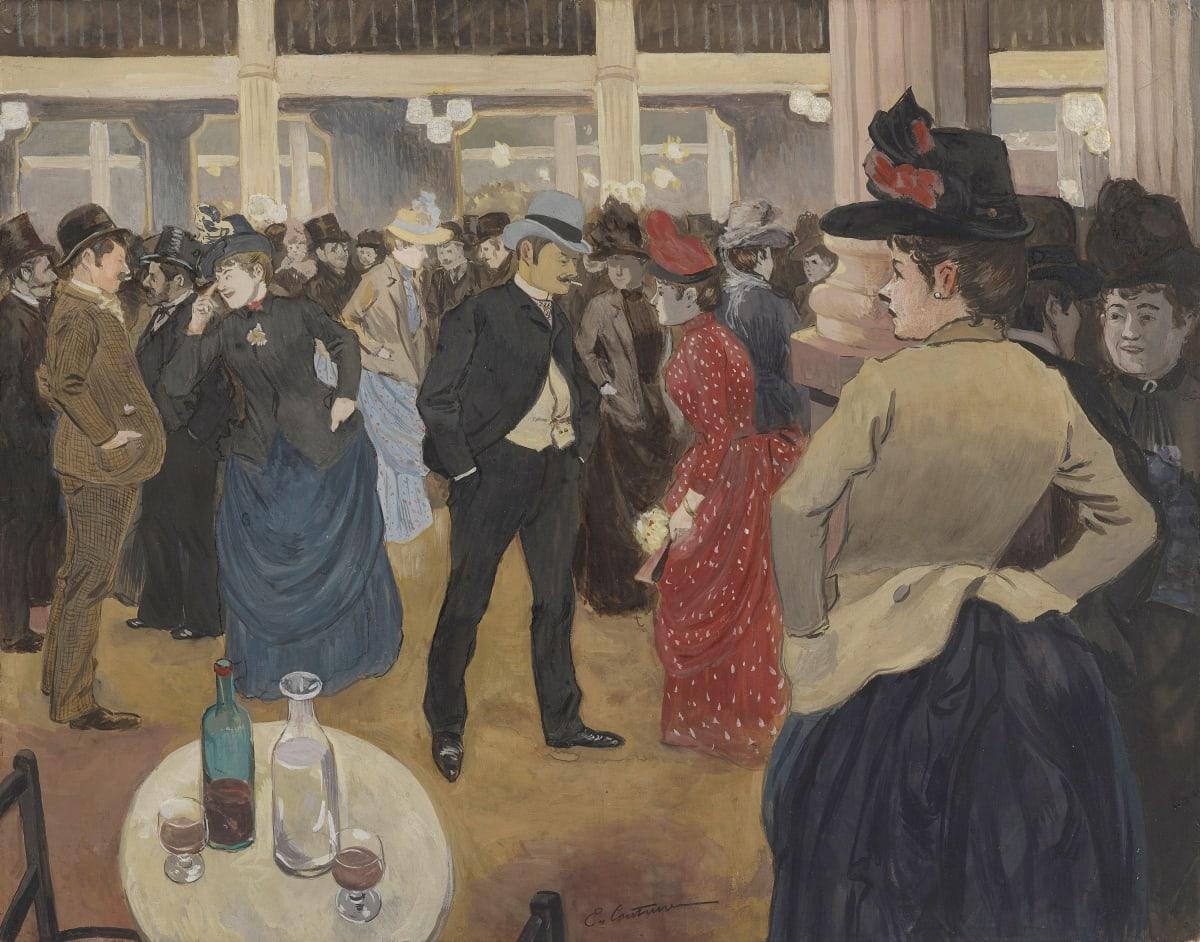 Edouard Couturier, Au Moulin rouge