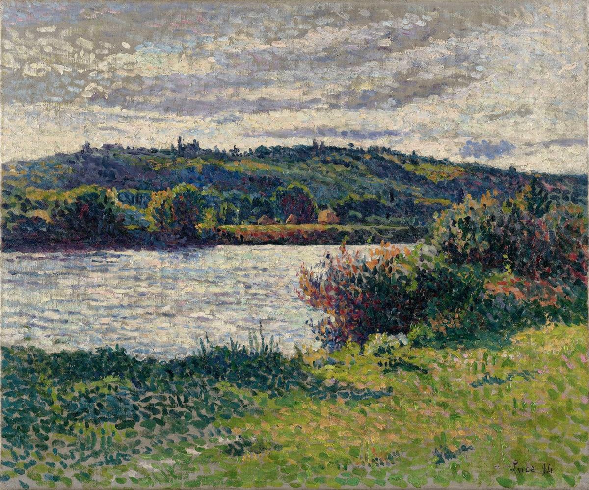 Maximilien Luce, La Seine aux Grésillons, 1890