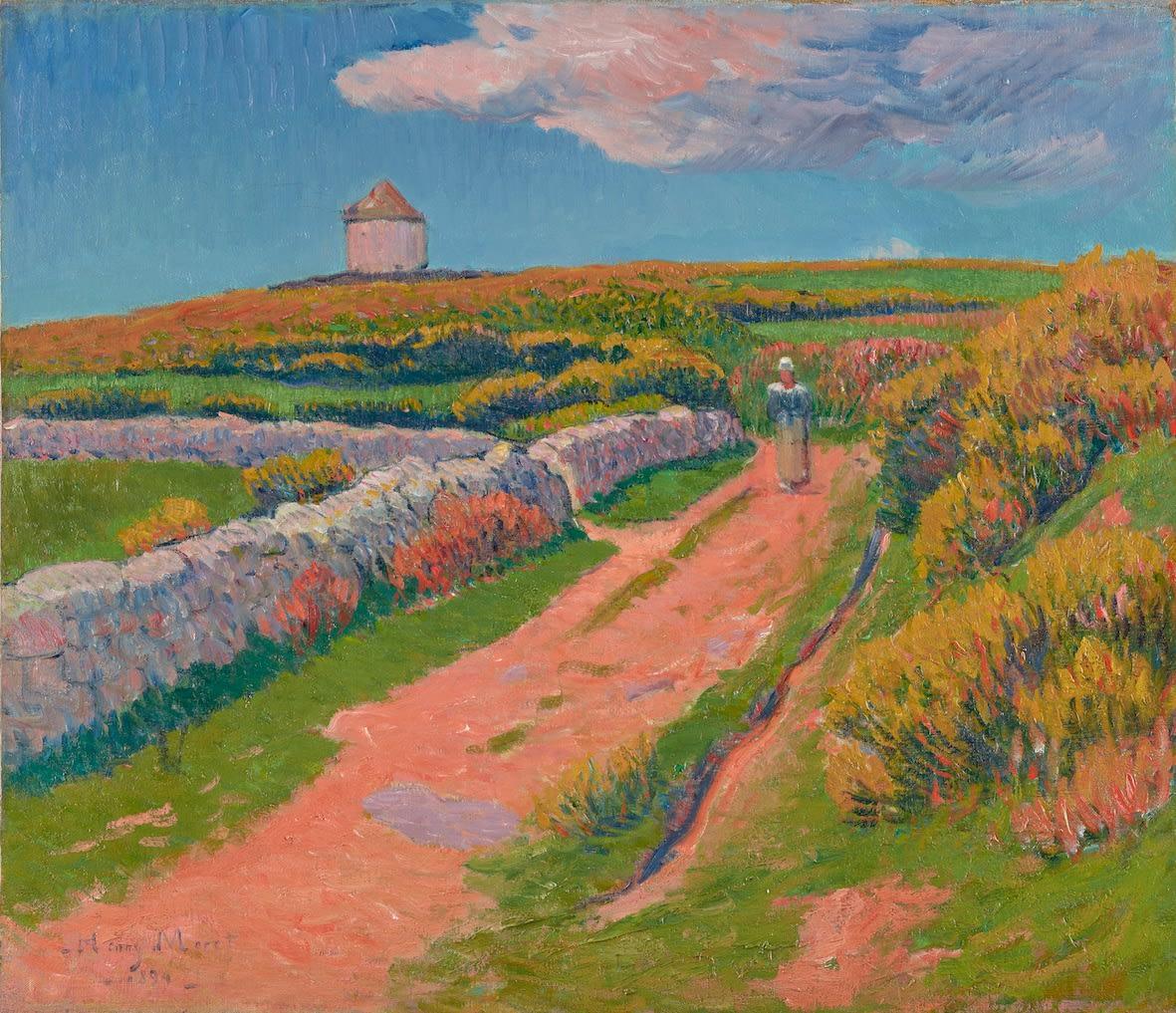 Henry Moret, Le chemin rose, 1894