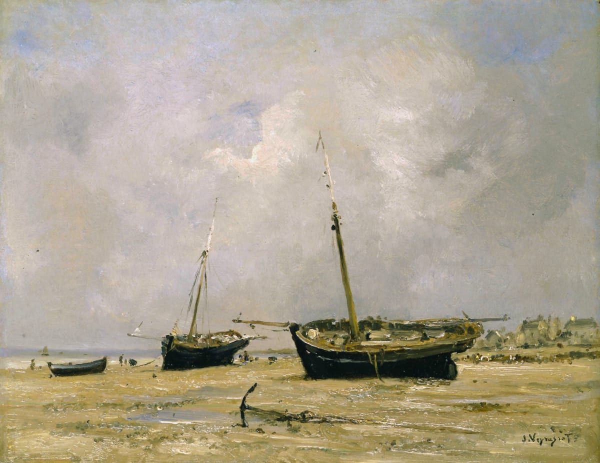 Jules Jacques Veyrassat, Bateaux, marée basse
