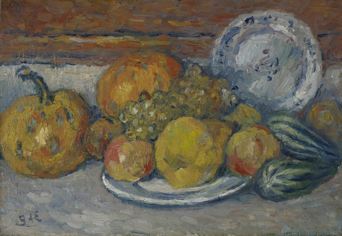 Georges d'Espagnat, Nature morte aux fruits et legumes