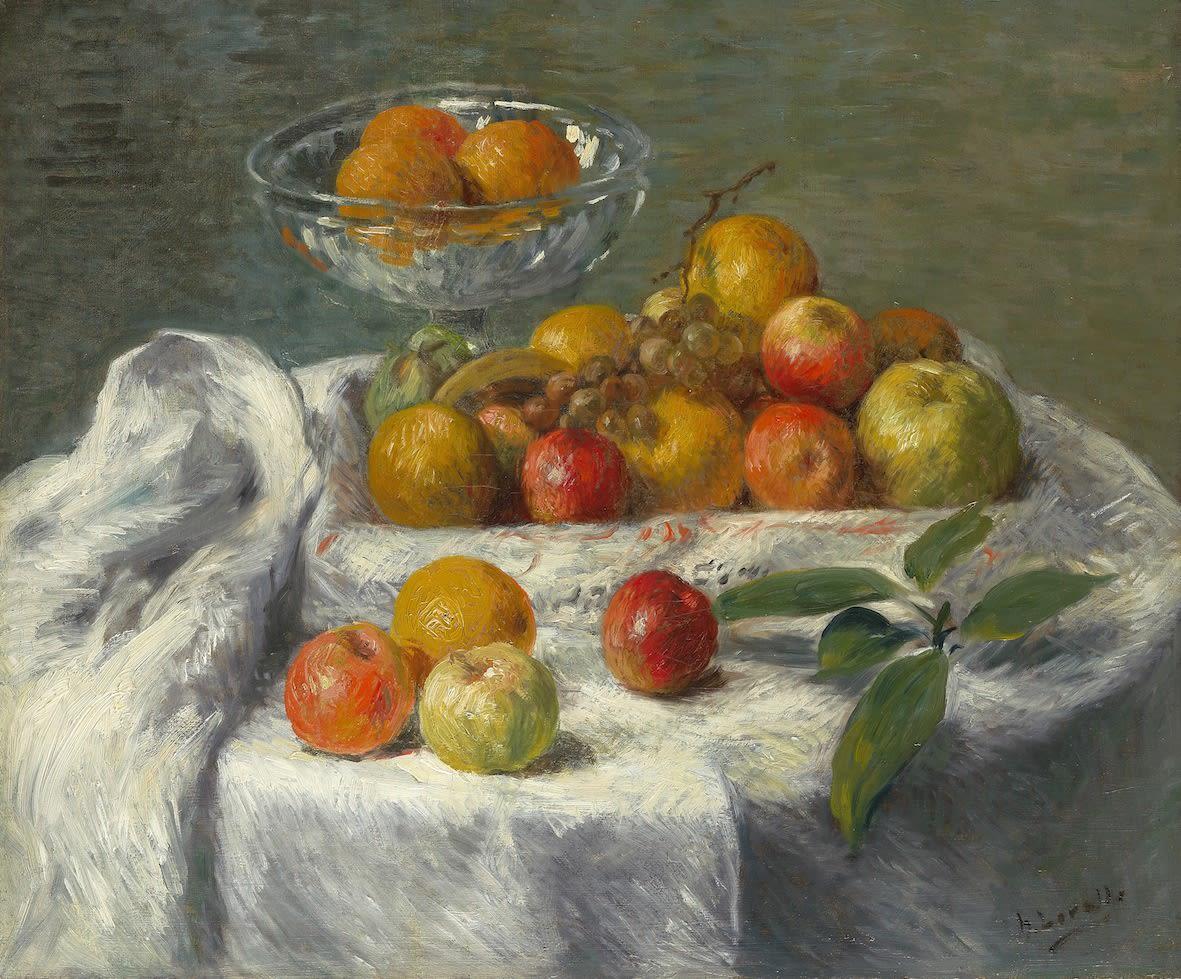 Henry Lerolle, Pommes et oranges, c.1905