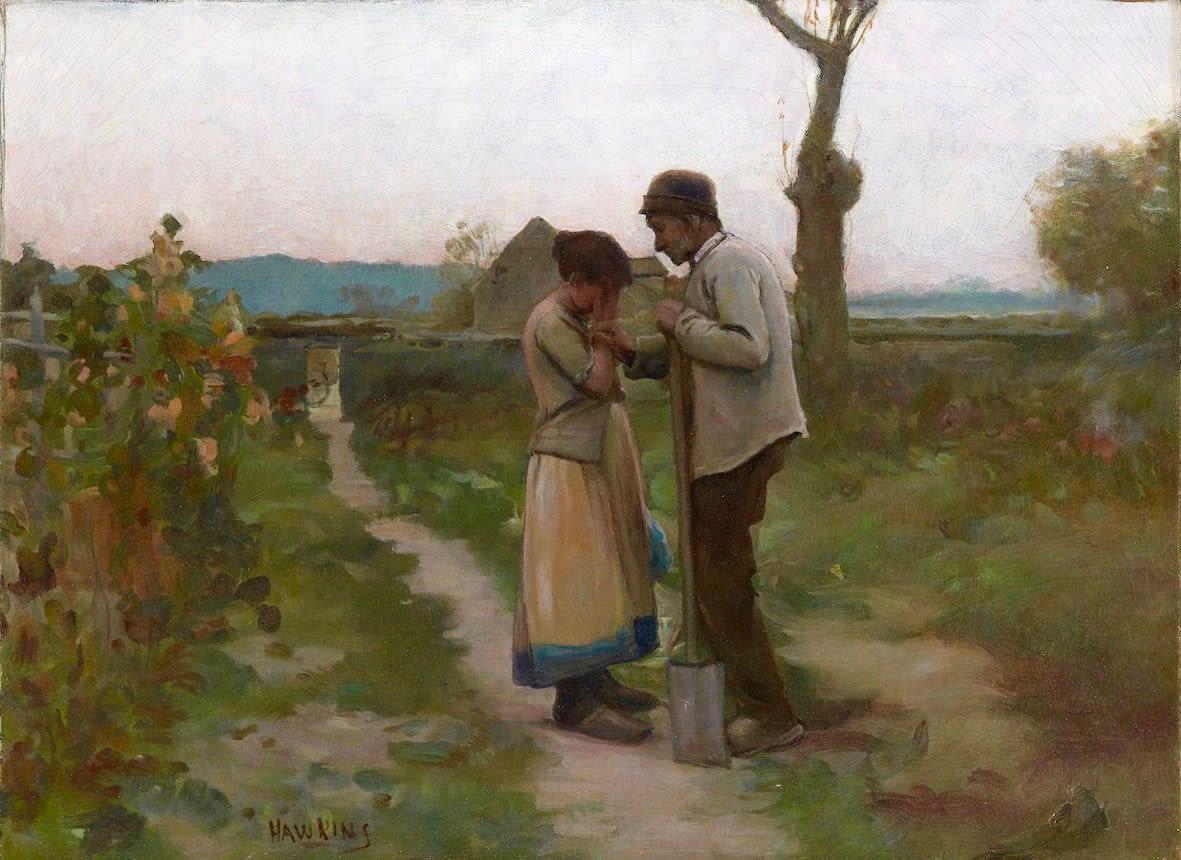 Louis Welden Hawkins, Le chagrin