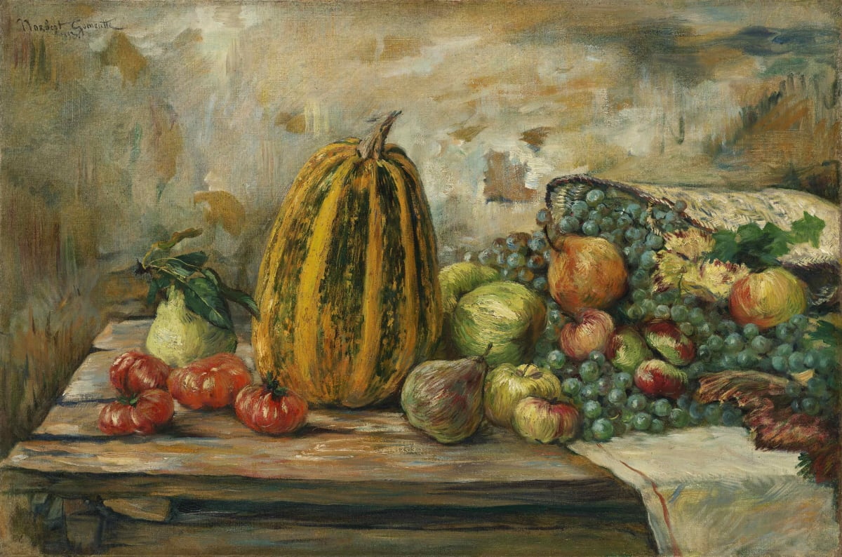 Norbert Goeneutte, Nature morte aux fruits , 1893