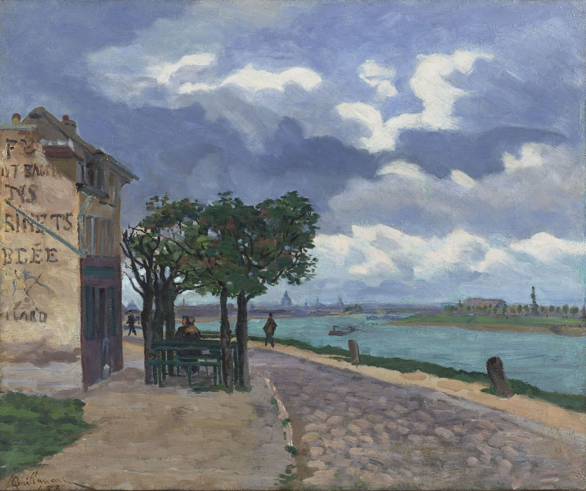 Armand Guillaumin, Bords de la Seine, 1873