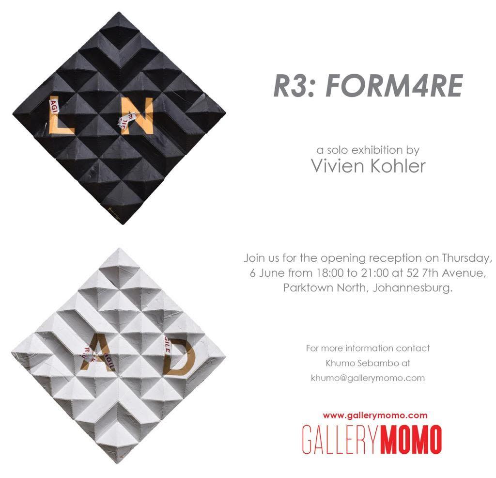 'r3: FORM4re' Solo Exhibition by Vivien Kohler at Gallery MOMO