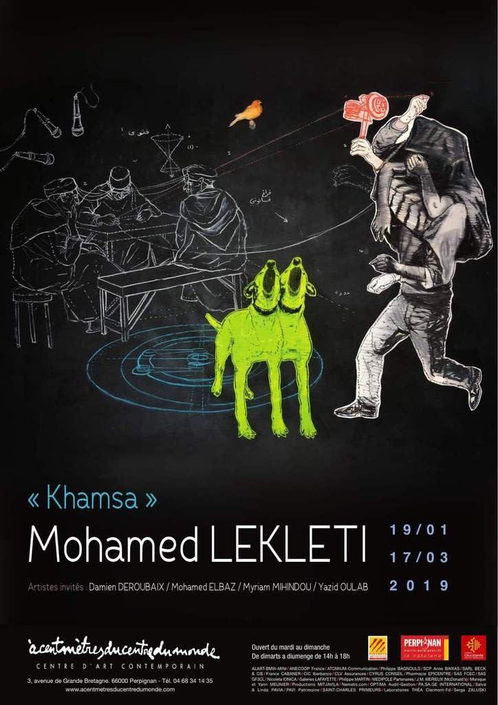 'Khamsa' by Mohamed Lekleti at Center of Contemporary Art, Perpignan