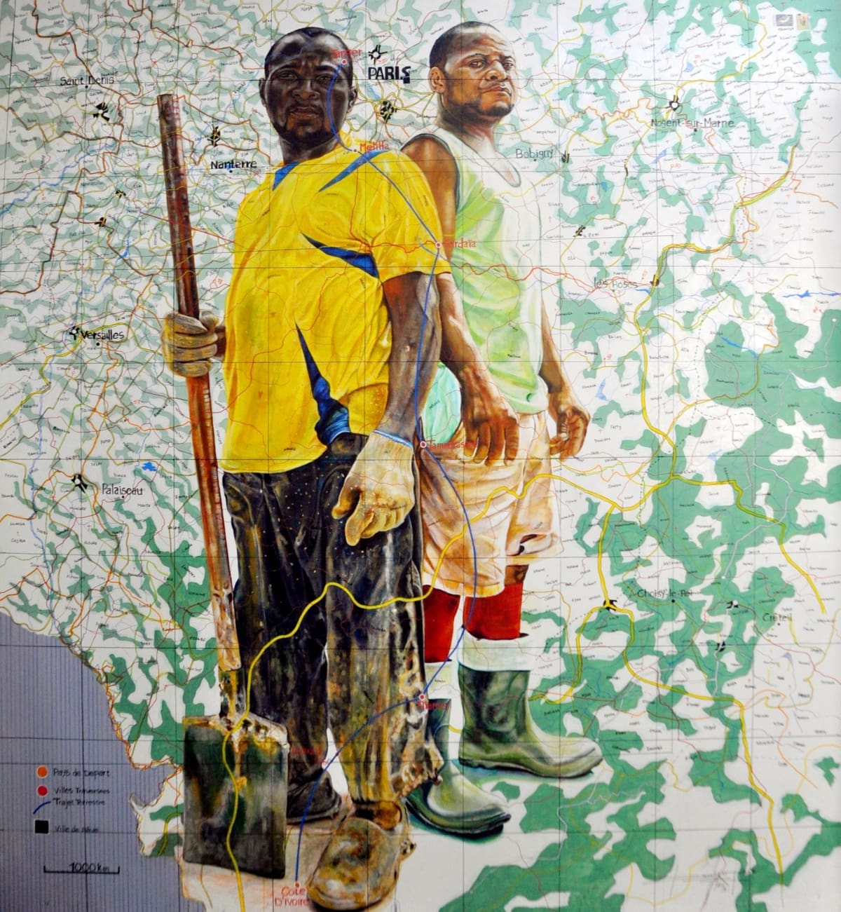 Featured by Obatala as one of nine contemporary African Art exhibitions not to miss in London