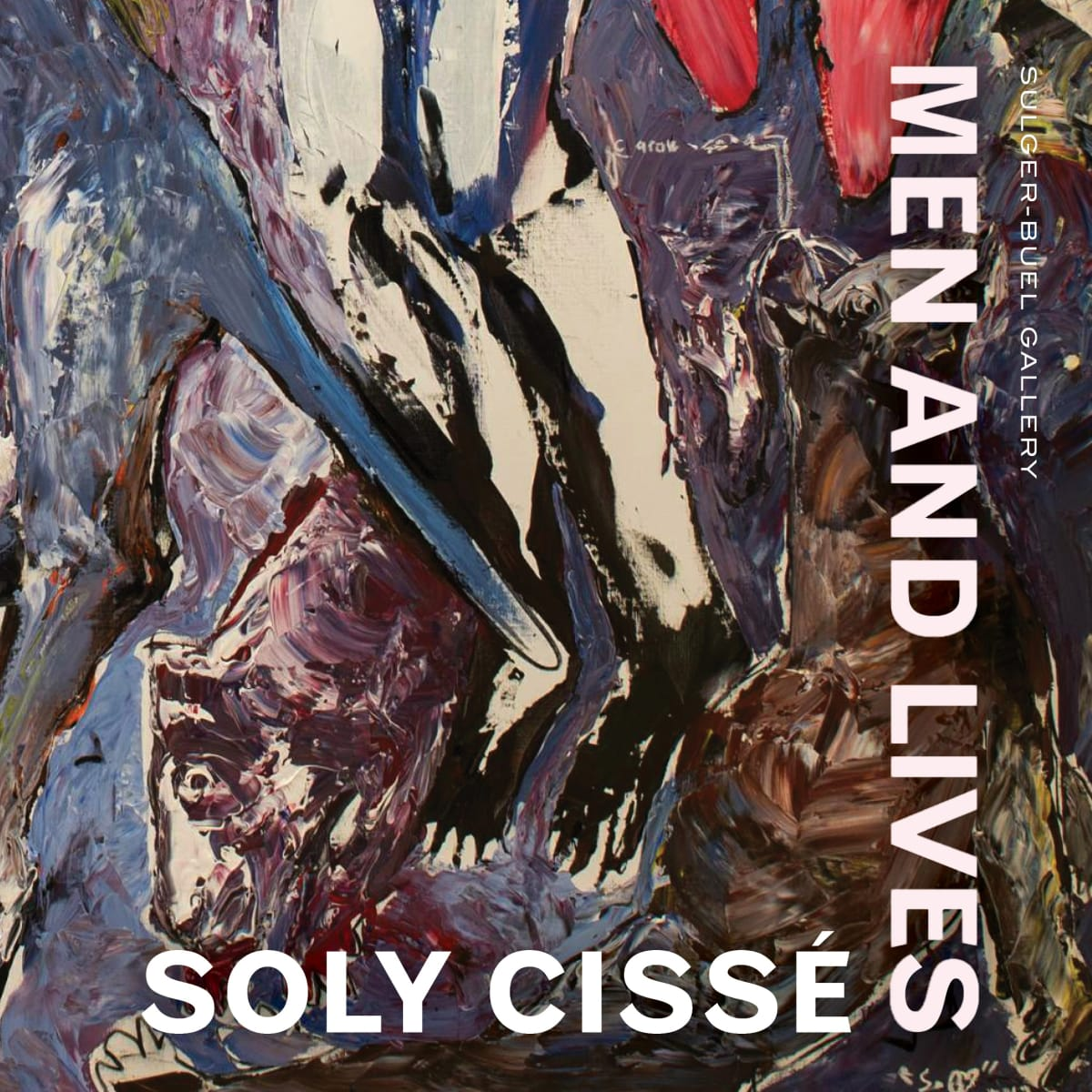 Soly Cissé 'Men and Lives'