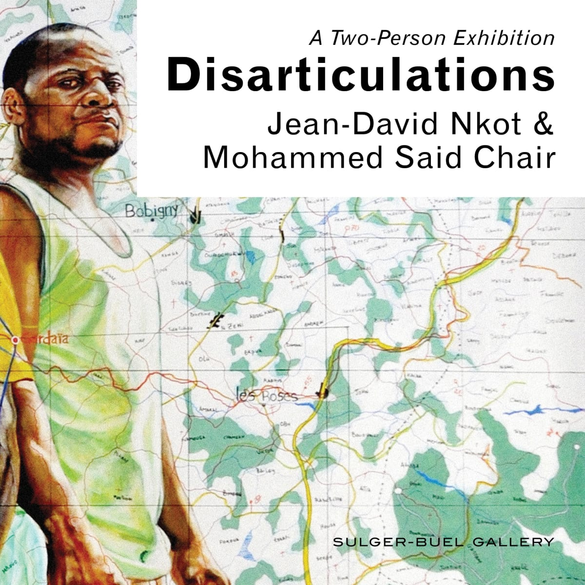 Jean-David Nkot & Mohamed Said Chair 'Disarticulations'