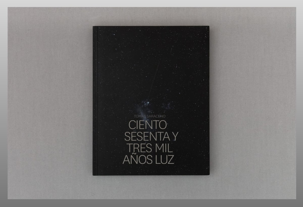 book cover of 163,000 Light Years exhibition catalogue