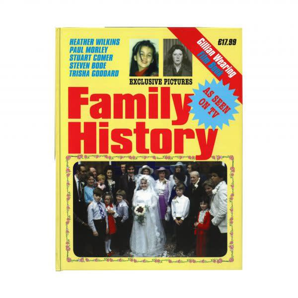 book cover of Gillian Wearing: Family History