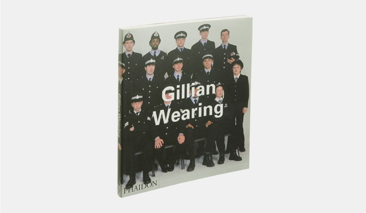Gillian Wearing Phaidon book cover