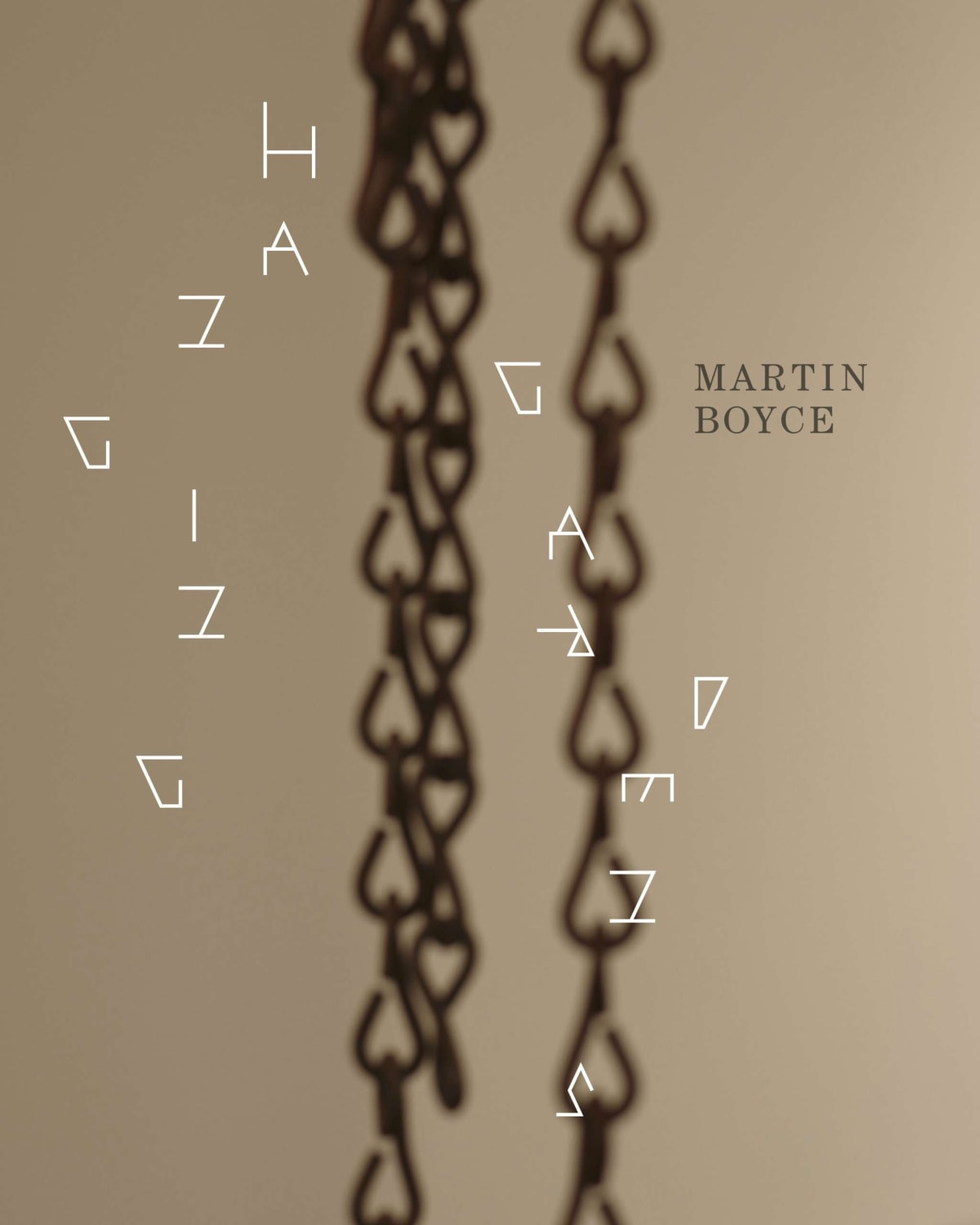 cover of Martin Boyce Hanging Gardens book