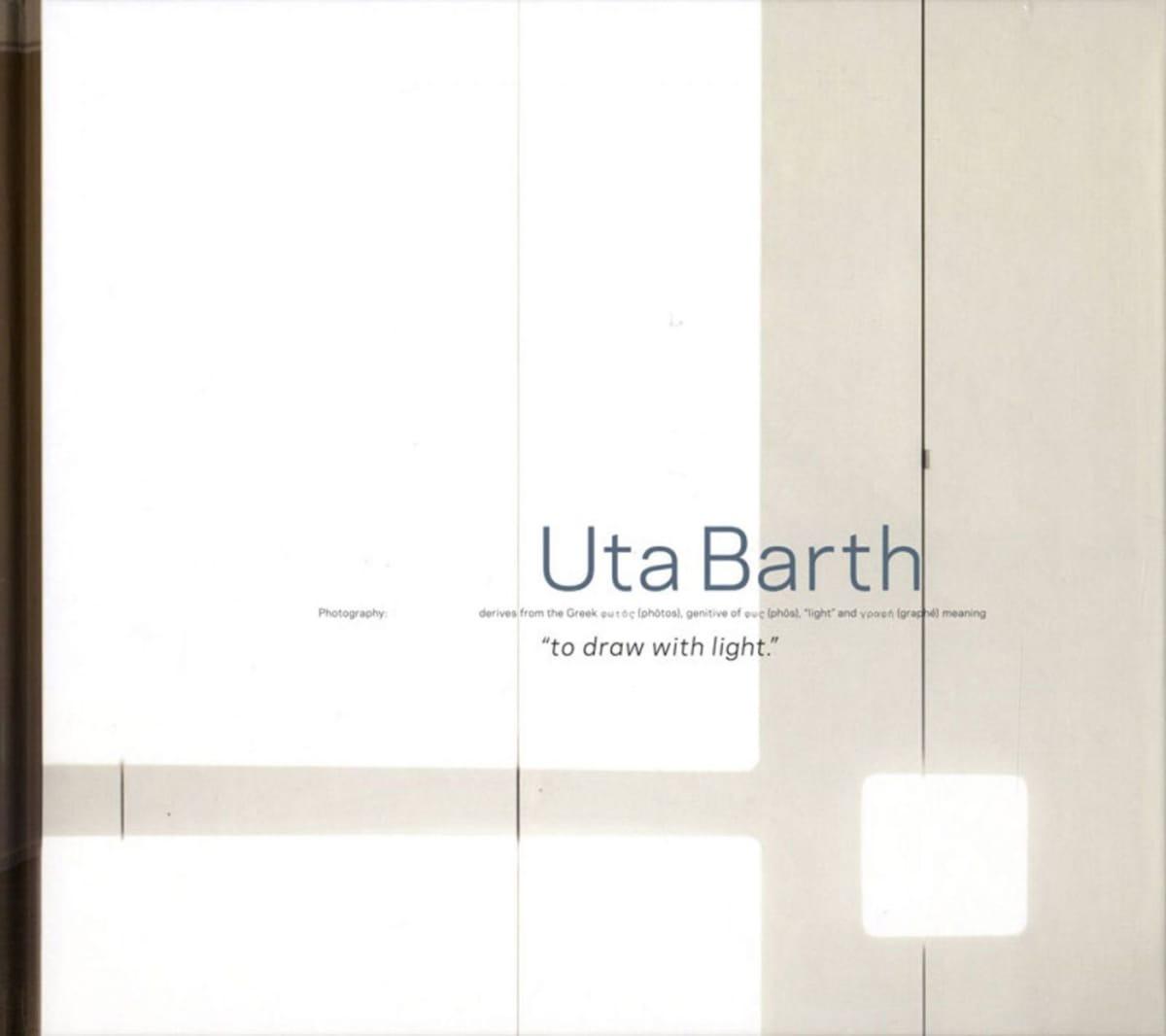 Cover of Uta Barth Blind Spot publication