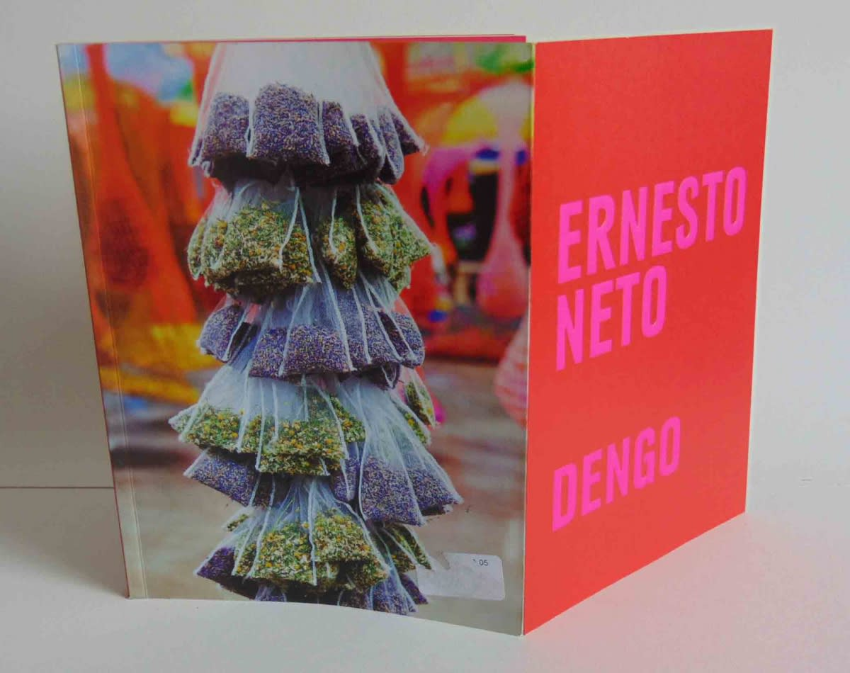Front and back book cover of Ernesto Neto: Dengo