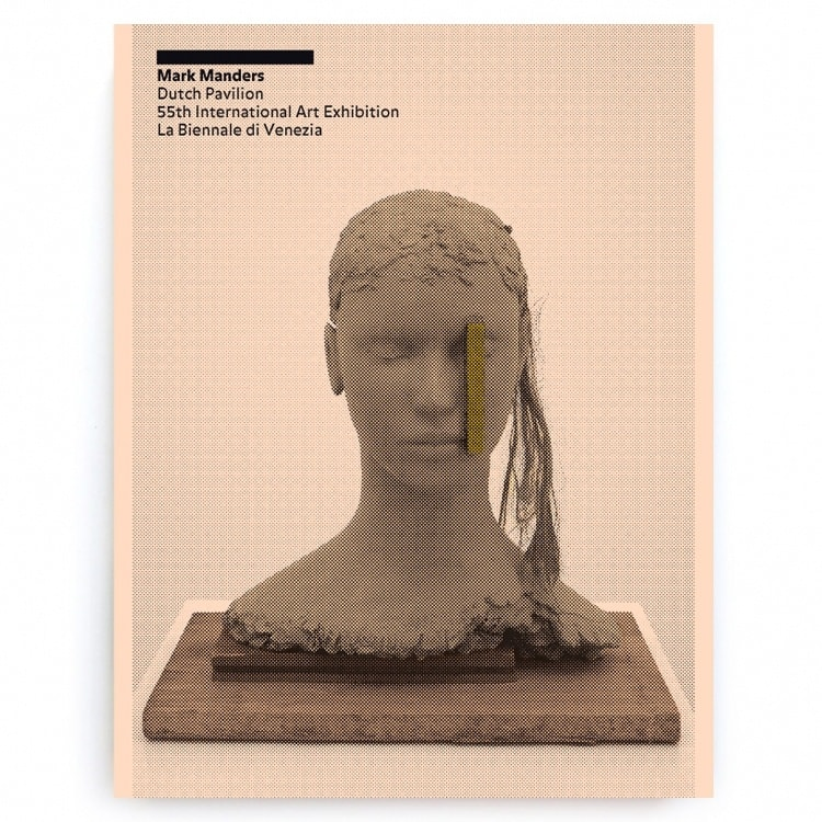 Book cover of Mark Manders / Room with Broken Sentence