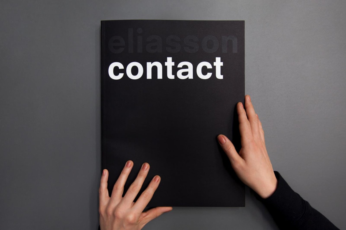 Olafur Eliasson Contact book cover