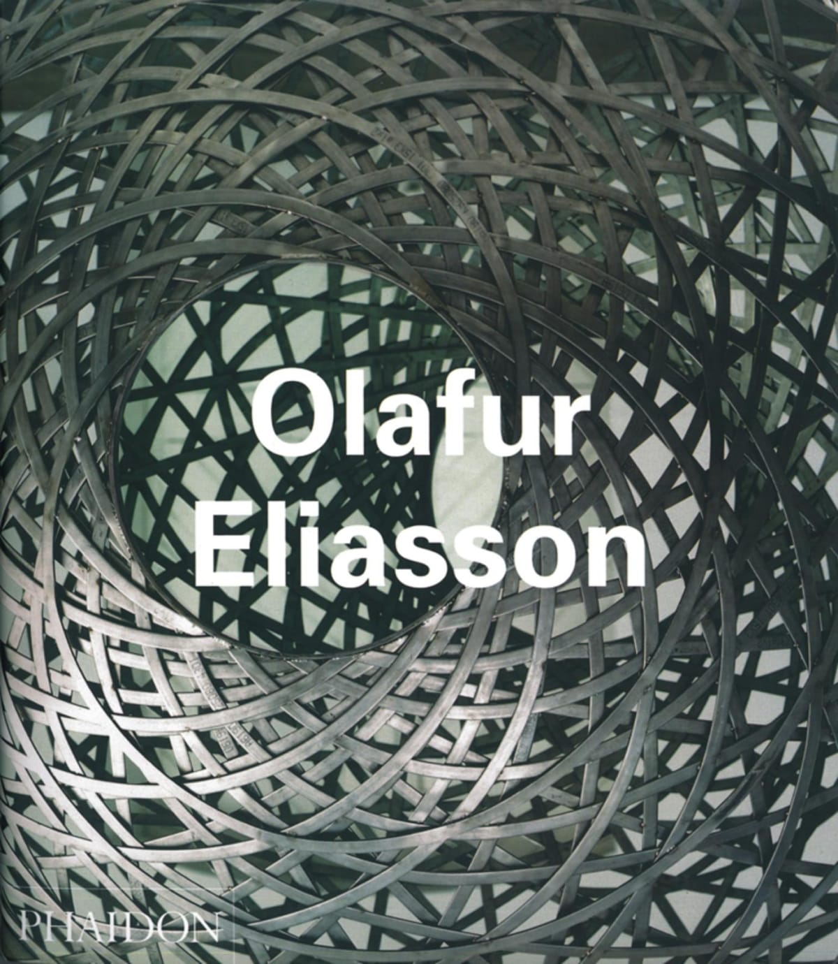 cover of Olafur Eliasson monograph book
