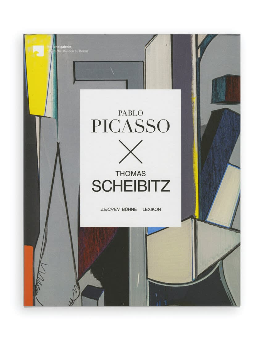 cover of Pablo Picasso x Thomas Scheibitz exhibition catalogue