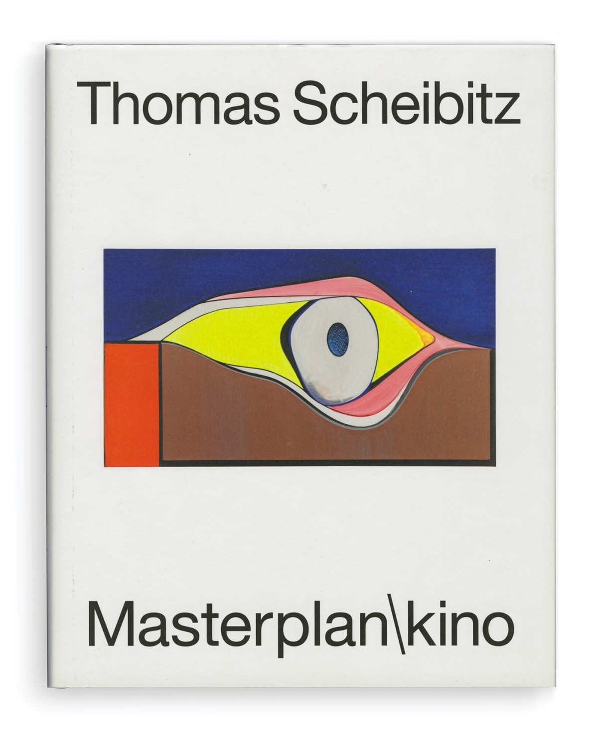 book cover of Masterplan\kino by thomas scheibitz