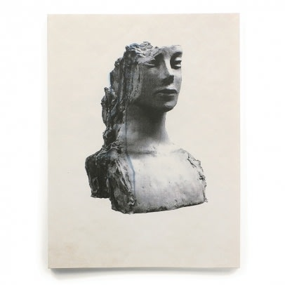 cover of Mark Manders Rokin Fountain book featuring sculpture