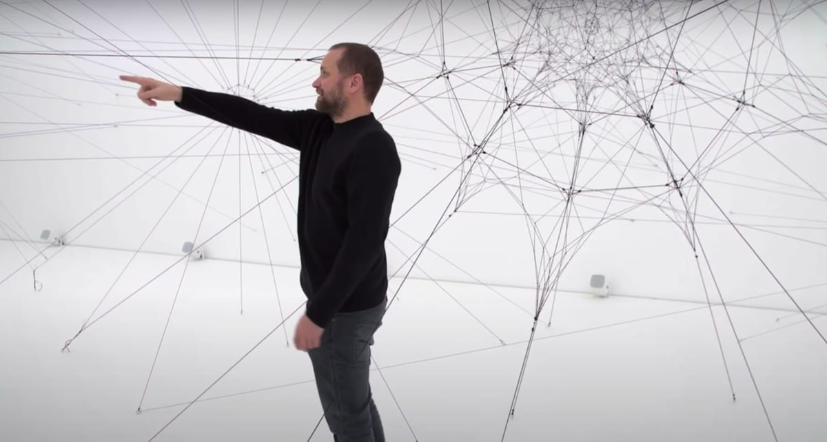 Saraceno at studio snapshot