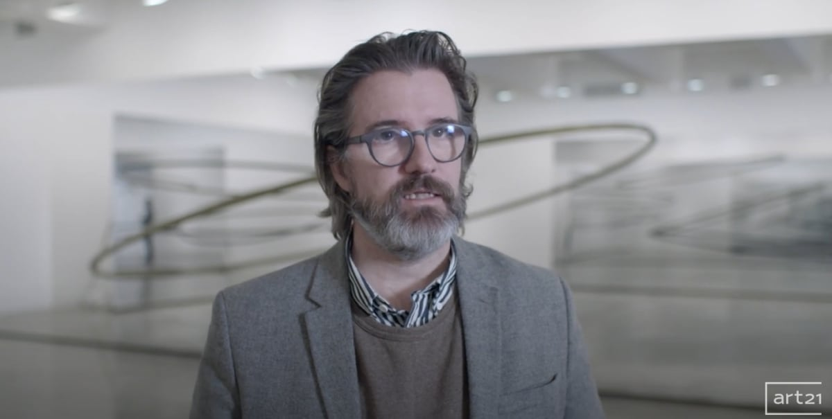 Olafur Eliasson Art 21 video snapshot.