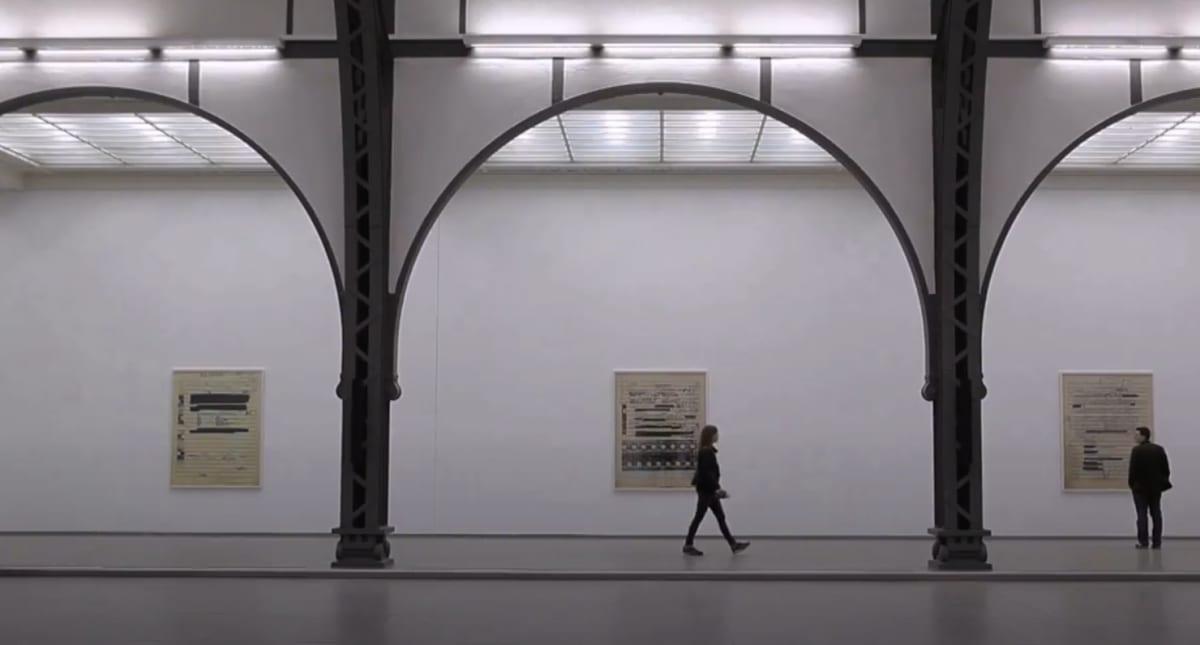 National Galleries: Sound in Space film snapshot.