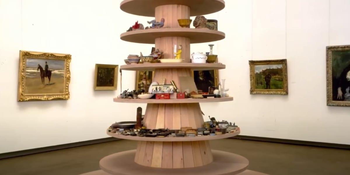 Art Conversation - intervista a Haim Steinbach video snapshot.