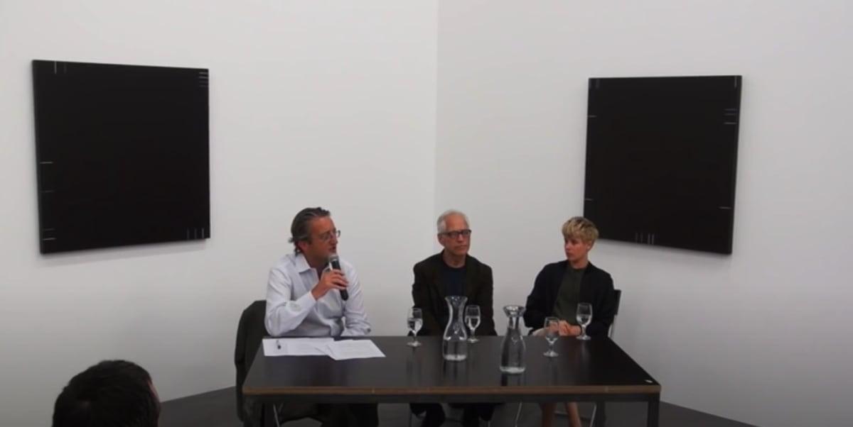 Haim Steinbach in Conversation with Helen Marten and Tom Eccles interview snapshot..