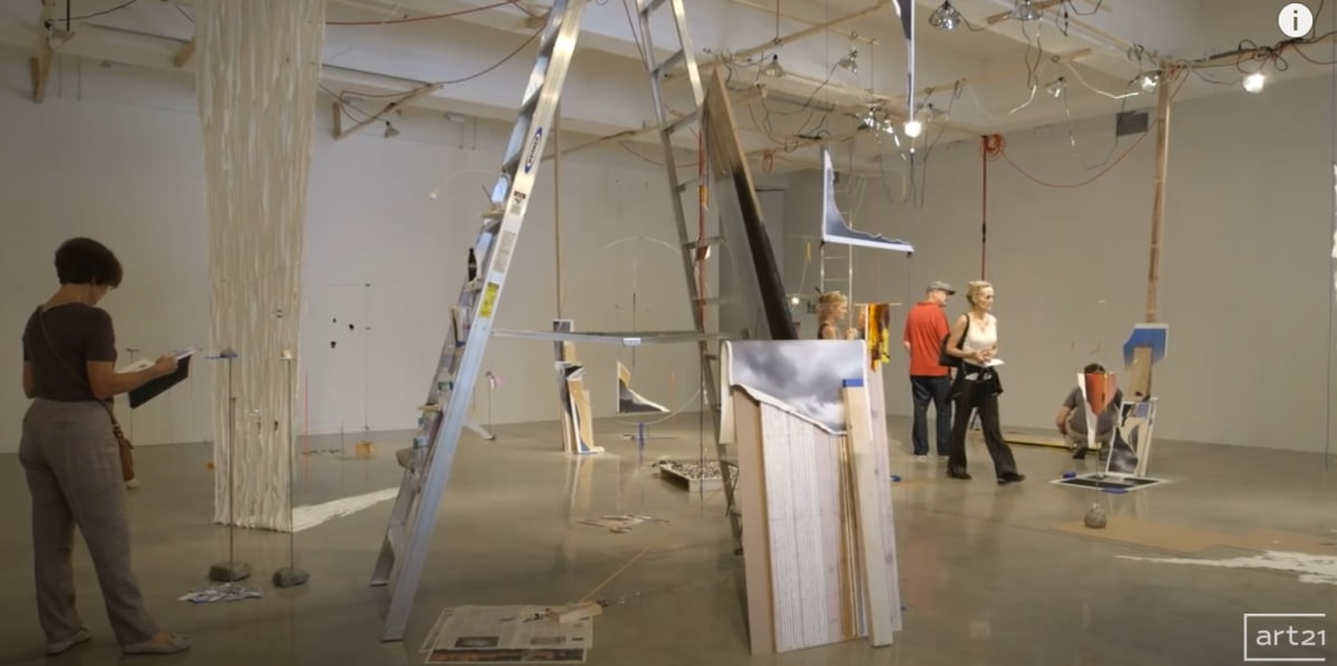 "Sarah Sze: How We See the World | Art21 ""Extended Play"" video snapshot."