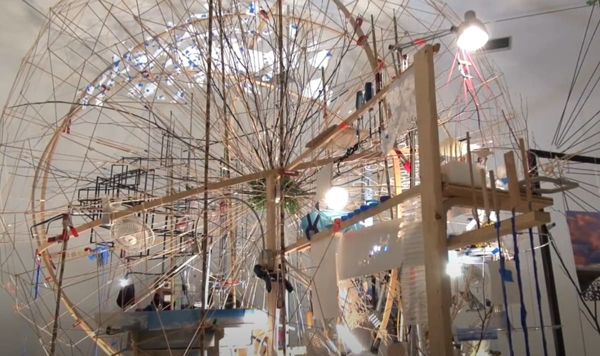 6:54 / 12:50 Sarah Sze Interview: The Meaning Between Things snapshot.