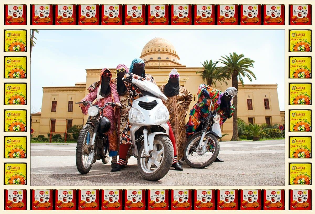 'Kesh Angels - Hassan Hajjaj