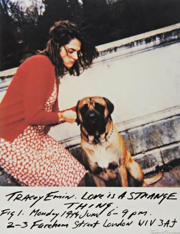 Tracey Emin, Love Is A Strange Thing