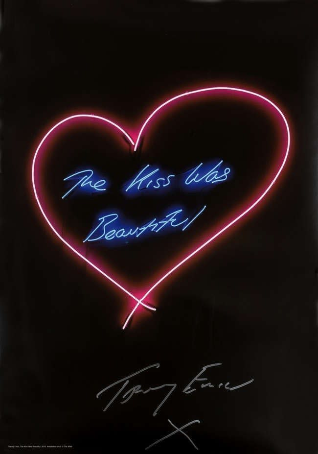 Tracey Emin, The Kiss Was Beautiful