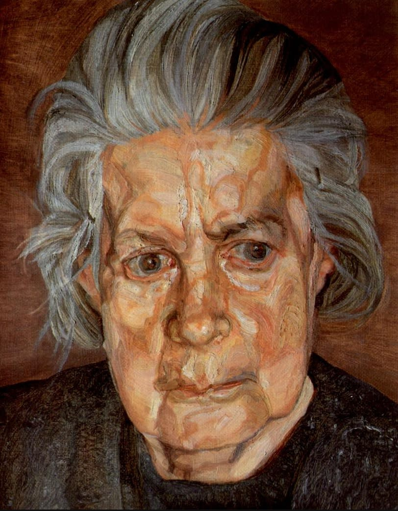 Lucien Freud Portrait of the artist's Mother SOLD