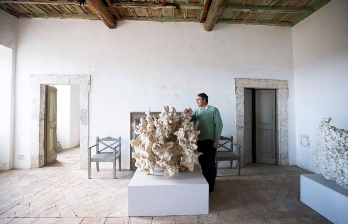 Alessandro Palazzo Cy Twombly, Bassano Teverina. Photo by Gerardo Gaetani D'aragano.