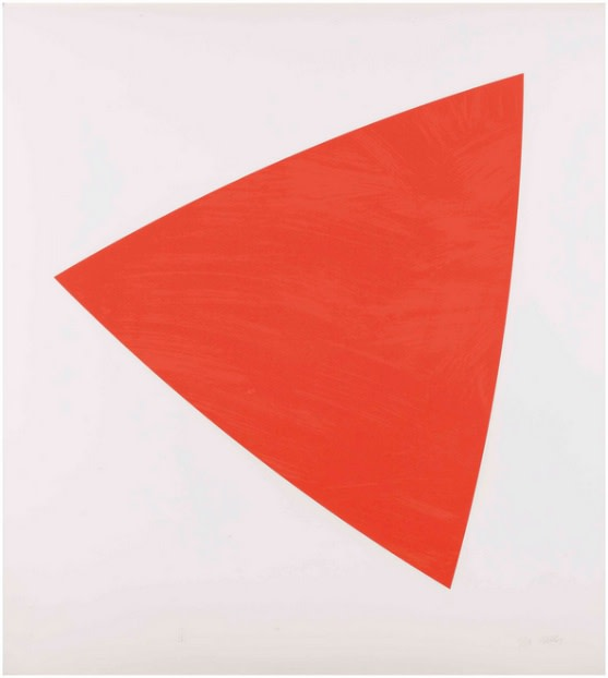 Ellsworth Kelly, Untitled (Red State II), 1988