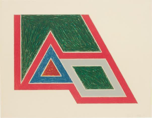 Frank Stella, Sanbornville, from Eccentric Polygons, 1974